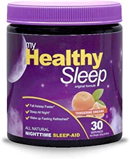 All Natural Sleep Aid Powder - 5X The Ingredients As Competitors Extra Strength Sleep Great, Feel Great! Adults & Children
