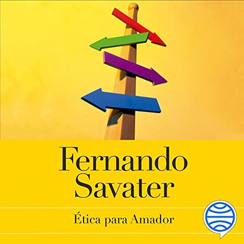 Diseño de la portada del título Ética para Amador