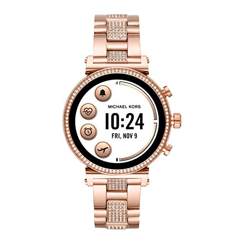 Michael Kors Damen Analog Quarz Uhr Smartwatch MKT5066