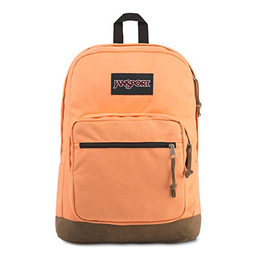 JanSport Right Pack 15 Inch Laptop Backpack - Any Occasion Daypack, Creamsicle