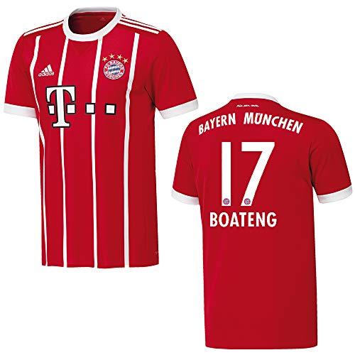 adidas Bayern Trikot Home Kinder 2018 - Boateng 17, Größe:176