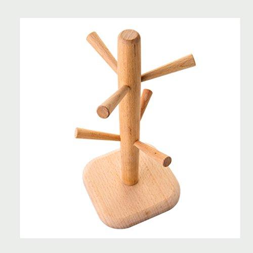 WXP Kitchen furniture - Porte-gobelet créatif et créatif Cuisine à la maison Étagères de rangement Tasses à café Porte-tétines Matériel en bois Porte-gobelets Porte-bagages Armoires et armoires de