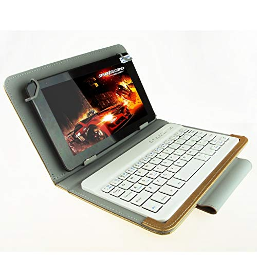 Accesorios de tabletas Teclado universal Bluetooth con estuche de cuero y soporte para Ainol / PiPO / Ramos de 7.0 pulgadas / 7.8 pulgadas / 8.0 pulgadas Tablet PC (apto para S-WMC-0018 / S-WMC-0400 /
