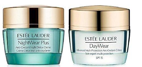 Estee Lauder Daywear Nightwear Plus Creme 超特価 上品 Pac Anti-oxidant Duo