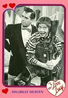 Lucy Ricky trading card I Love Lucy 1991 Pacific #13 Episode Men are Messy