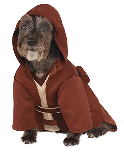 Rubie's Disney Star Wars Jedi Robe Haustierkostüm, Hundekostüm, Größe L