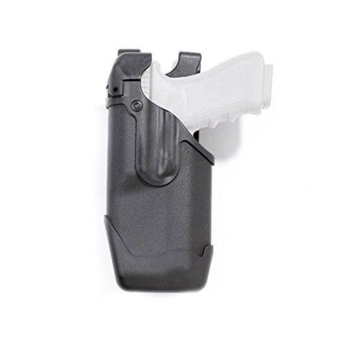 BLACKHAWK 44E000BK-L Glock 17/22/31 Epoch Level 3 Molded Light Bearing Duty Holster, Matte