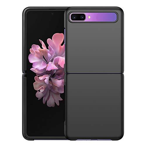 YIIWAY Cover Samsung Galaxy Z Flip, Nero Ultra Sottile Custodia Cover Protettiva Case per Samsung Galaxy Z Flip 5G YW41265