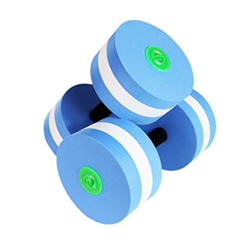 Wakauto 2 Pz/Set acquagym manubri galleggianti,manubri acquagym,Galleggiante Manubri Acquagym Acquatico Bilanciere Nuoto Acqua Yoga Sport Fitness Attrezzature per Esercizi