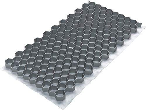 ACO Kiesstabilisierung 764 x 392 x 32 mm, Set mit 10 Matten und 1 Schnurwasserwaage