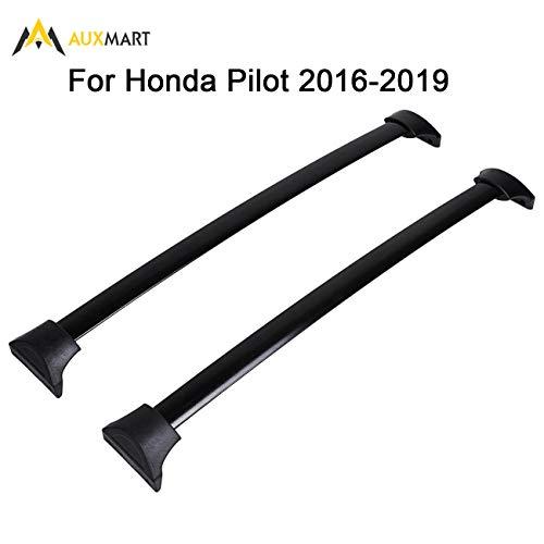 AUXMART Roof Rack Cross Bars for 2016–2019 Honda Pilot (Factory Side Rails Needed)