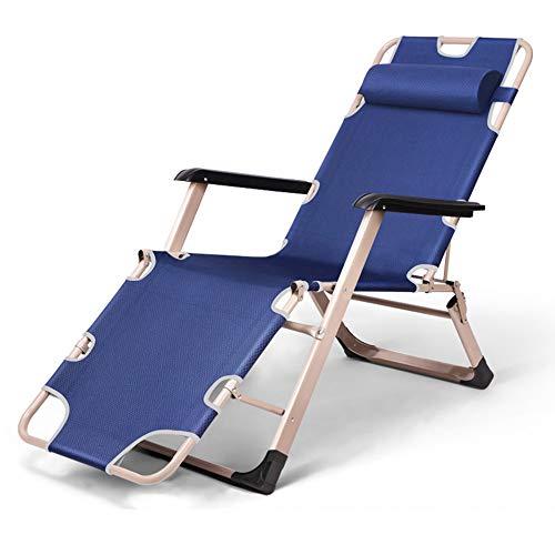 Folding table and chair Chaises Longues, Lit Sieste DéJeuner, Chaise Portable Paresseuse, pour Bureau, Plage, Balcon, Camping