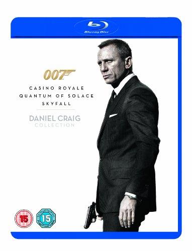 Daniel Craig 007 Triple Pack: Casino Royale / Quantum of Solace / Skyfall [Blu-ray] [2006]