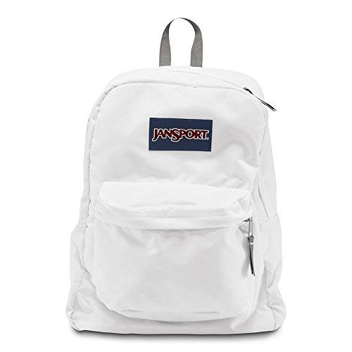 JanSport Superbreak Backpack - White - Classic, Ultralight