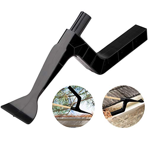 Taghua Ingenious Gutter Cleaning Tool, Roof Gutters Cleaning Spoon and Scoop Leaves Remover Clean House Gutter for Garden, Ditch, Villas, Townhouses