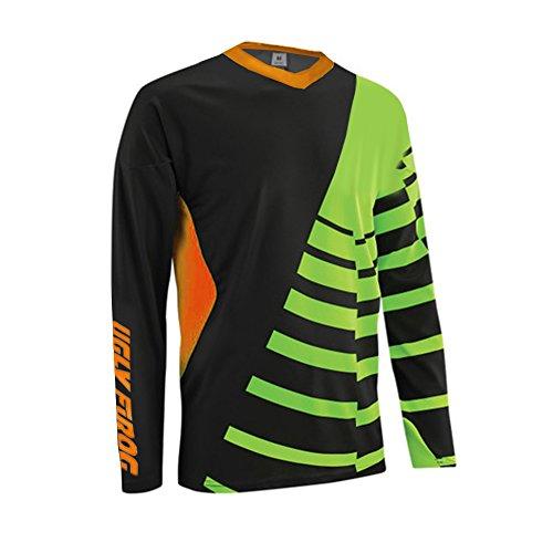 Uglyfrog 2018-2019 New Sports Wear Herren Downhill/MTB Jersey Mountain Bike Shirt Fahrradtrikot Langarm Freeride BMX Frühling Top