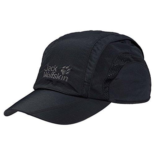 Jack Wolfskin Kappe Vent Pro Cap, black, L