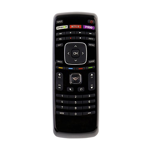 New XRT112 Internet Smart Apps TV Remote Control with M-GO Netflix Shortcut Key for Vizio TV M322I-B2 M422I-B2 M492I-B2 M502I-B2 M552I-B2 M602I-B2 M652I-B2 E320I-A2 E600I-B3 E550I-B2 E550i-A0