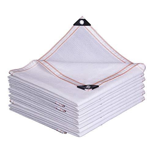YXX-Filet d'ombrage Tissu d'ombre de rayons UV blancs - bâche de maille d'ombre de jardin - filet d'ombrage à 85% pour les fleurs, les plantes, la pelouse, le toit et la couverture de piscine