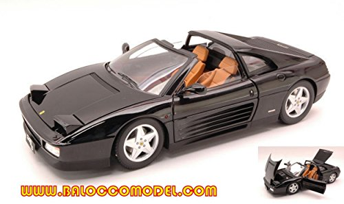 Hot Wheels HWX5481 Ferrari 348 TS 1989 Black 1:18 MODELLINO Die Cast Model Compatible con