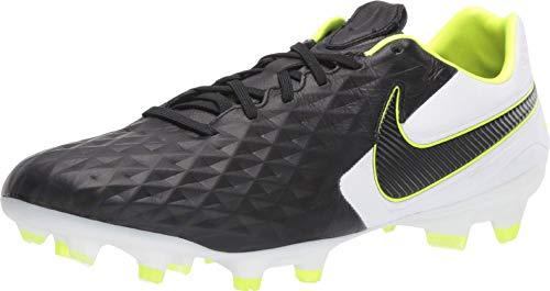 Nike Tiempo Legend 8 Pro FG Football Boot Black/Black-White 19/20 42 Black/Black-White