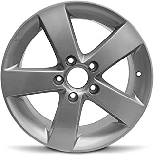 Road Ready Car Wheel For 2006-2011 Honda Civic 16 Inch 5 Lug chrome Aluminum Rim Fits R16 Tire - Exact OEM Replacement - Full-Size Spare