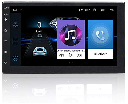 Sound Boss NEXGeneration Android 2Din 7'' Inch Ultra HD Capacitive Polegadas Touch Screen GPS Navigation AM/FM Radio Audio Receiver Support Mirrorlink/WiFi/Bluetooth/1080P video (1GB/16GB) Car Stereo (Double Din)