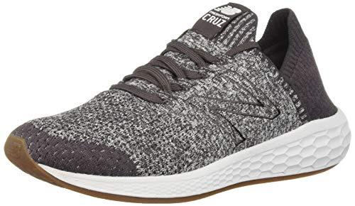 New Balance Herren Fresh Foam Cruz SockFit h Sneaker, Grau (Shale/Arctic Fox/Light Shale Lp2), 41.5 EU