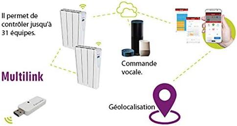 Radiateur /Électrique /à Inertie Fluide Wifi ZW 1200w