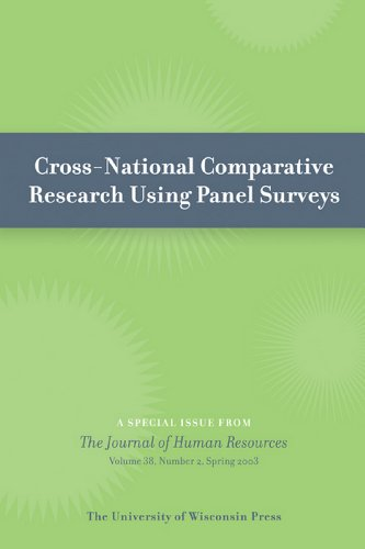 Cross-National Comparative Research Using Panel Surveys: Special Issue of Journal of Human Resources 38:2 (Spring 2003) (English Edition)