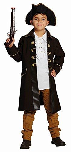 Rubie's Kinder Kostüm Piratenmantel Pirat Seeräuber Karneval Fasching Gr.164