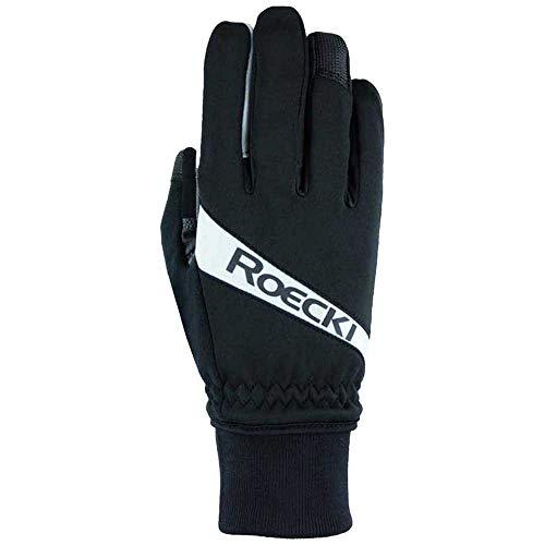 Roeckl Rofan Winter Fahrrad Handschuhe schwarz/weiß 2021: Größe: 8
