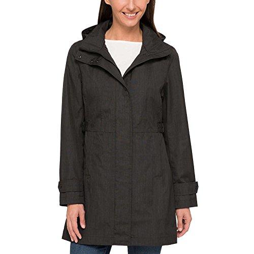 Kirkland Signature Ladies' Trench Coat (Medium, Charcoal)