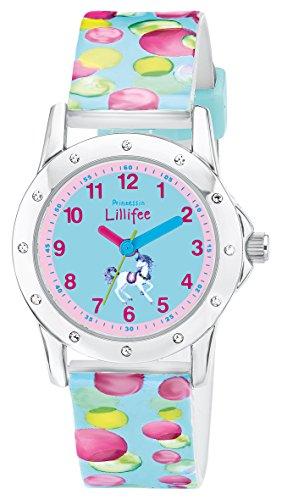 Prinzessin Lillifee 2013225 Uhr Mädchen Kinderuhr Kunststoff Aluminium 3 bar Analog Blau