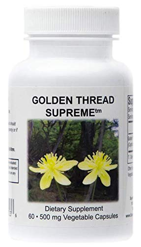 Supreme Nutrition Golden Thread Supreme, 60 Coptis Chinensis Caps