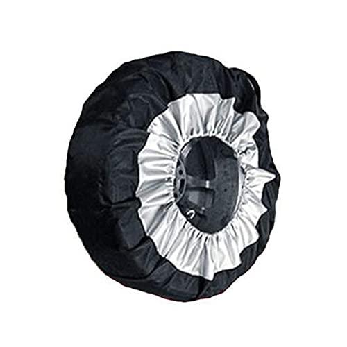 Cubierta Para Llantas De Automóvil Protección Solar - Cubiertas Para Llantas Impermeable Cuero Engrosado Rueda Protector UV Nieve, Película De Aluminio Para Cubierta Para Neumáticos De 17-21 Pulgadas