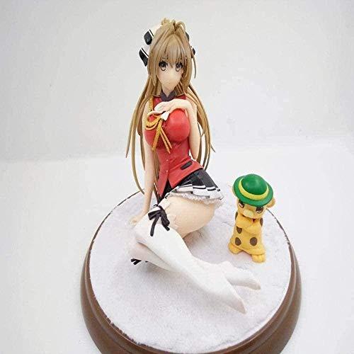 UanPlee-SC Personajes de Anime Figura de acción Amagi Brilliant Park Sento Isuzu Colección Modelo de Personaje Animado Estatua Decoración KH639