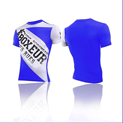 BOXEUR DES RUES T-Shirt Col Rond Coupe ajustée