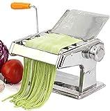 Máquina de fideos 6 velocidades para ajuste de espesor Fresco Spaghetti Macaroni Lasaña Cortador de masa