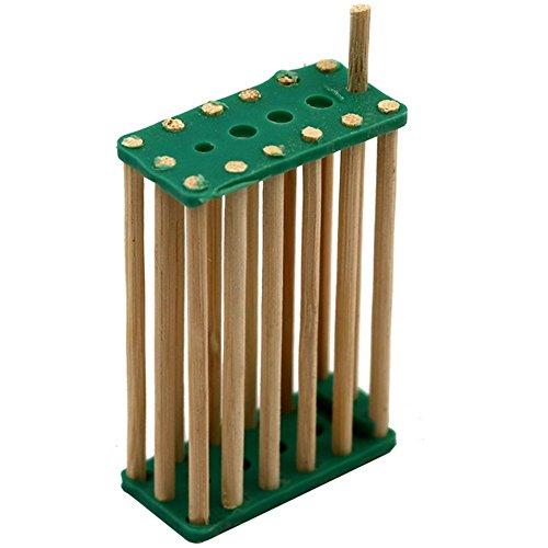 Lot de 20 cages à oiseaux en bambou pour ruches et reines