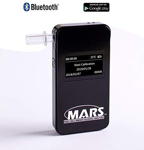 ALCOLINO ETILOMETRO Professionale Mars Bluetooth...
