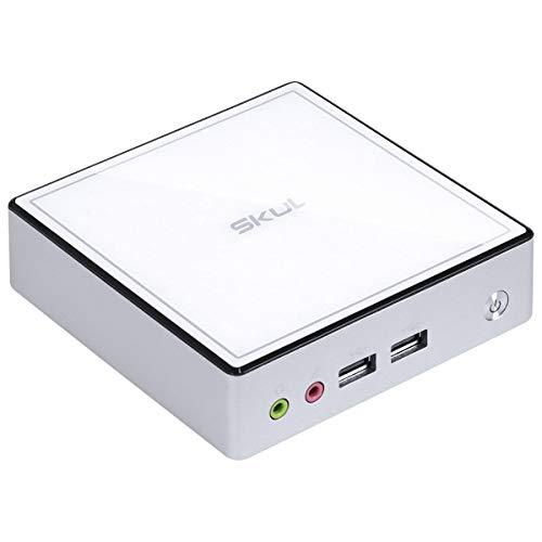 NANO COMPUTADOR BUSINESS SKUL B500 - I5 5300U 2.3GHZ MEM 8GB DDR3 SODIMM SSD 480GB WI-FI FONTE EXTERNA WINDOWS 10 HOME BRANCO