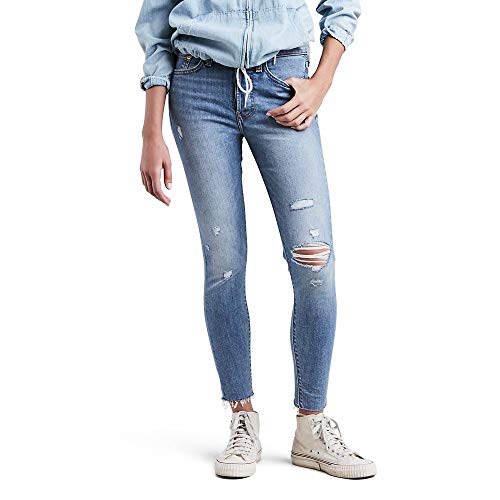 Levi's Women's Wedgie Skinny Jeans, Blue Spice, 28 (US 6)