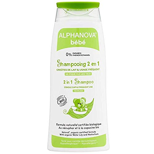 Alphanova Baby Shampoo 2 in 1 Tearless - Bio Organic 200ml