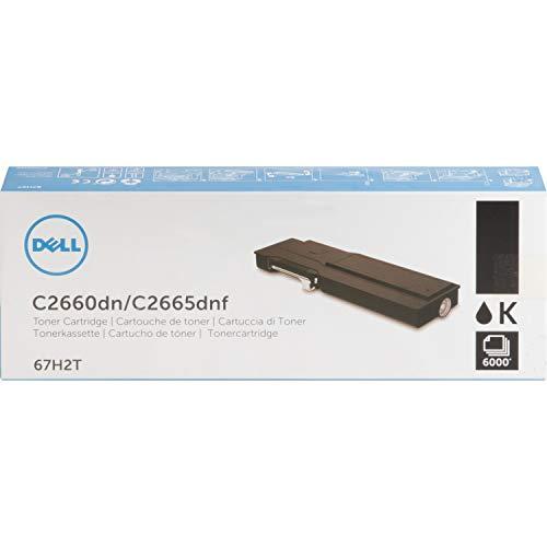 Dell 67H2T Black Toner Cartridge C2660dn/C2665dnf Color Laser Printer