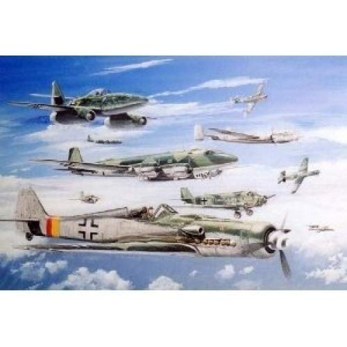 1/700 WW2 Luftwafhe Aircraft2