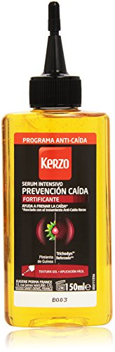 Kerzo - Serum intensivo con textura gel - Prevención caída - 150 ml