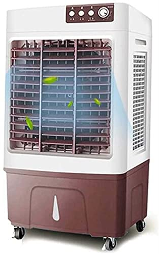 Fan Mobile Air Conditioner, Air Cooler Portable Industrial Air Conditioner Water Cooled Air Conditioner, Humidifier Air Purifier, 3 Speed Adjustment 520 * 370 * 900mm