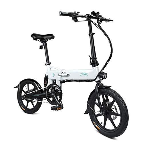Oldhorse Bici Elettrica Montagna Pieghevole Bike E-Bike Misto Adulto con...