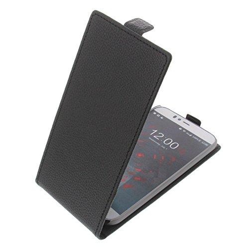 foto-kontor Tasche für UMI Iron Pro Flipstyle Schutz Hülle Handytasche schwarz